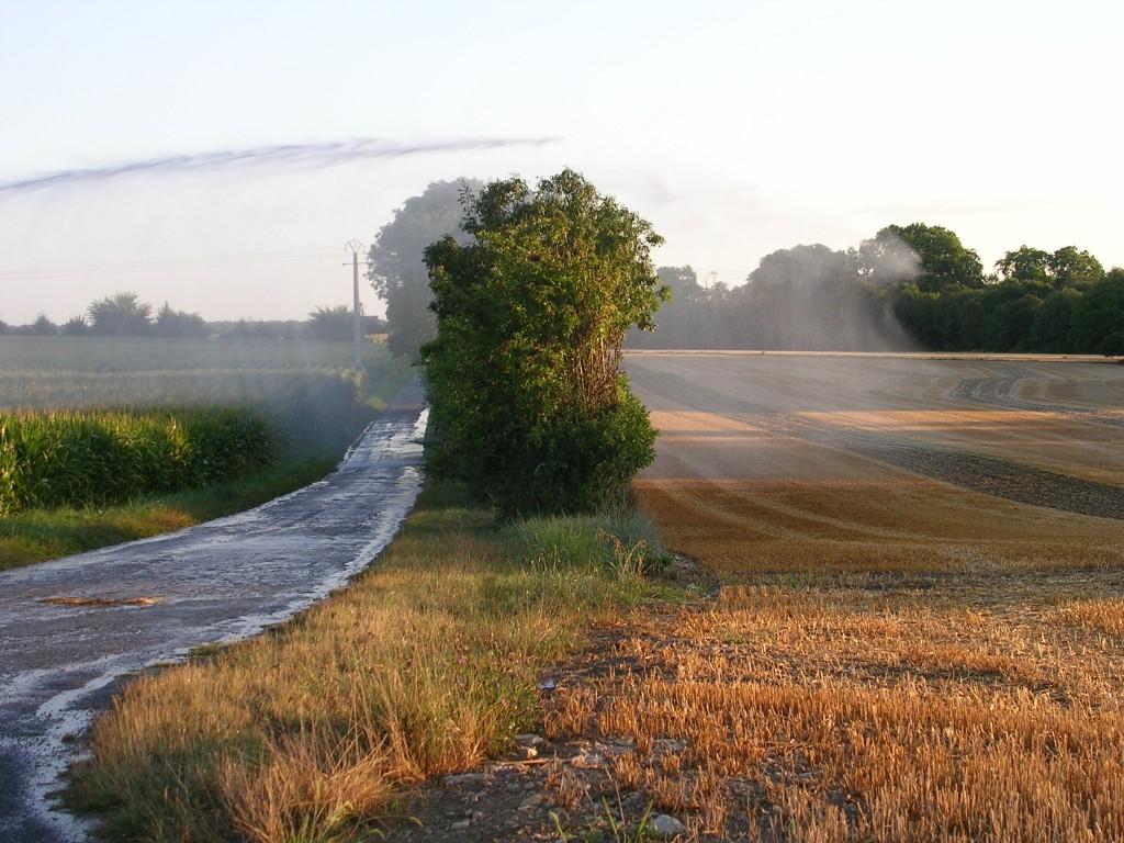 Irrigation à La Laigne
